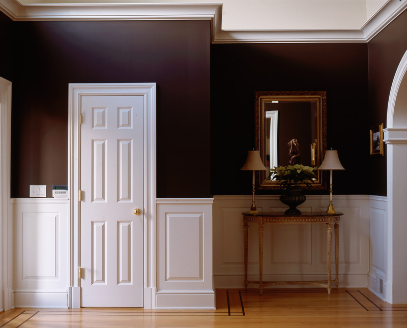 raised and recessed panel wainscoting wainscot solutions. Black Bedroom Furniture Sets. Home Design Ideas