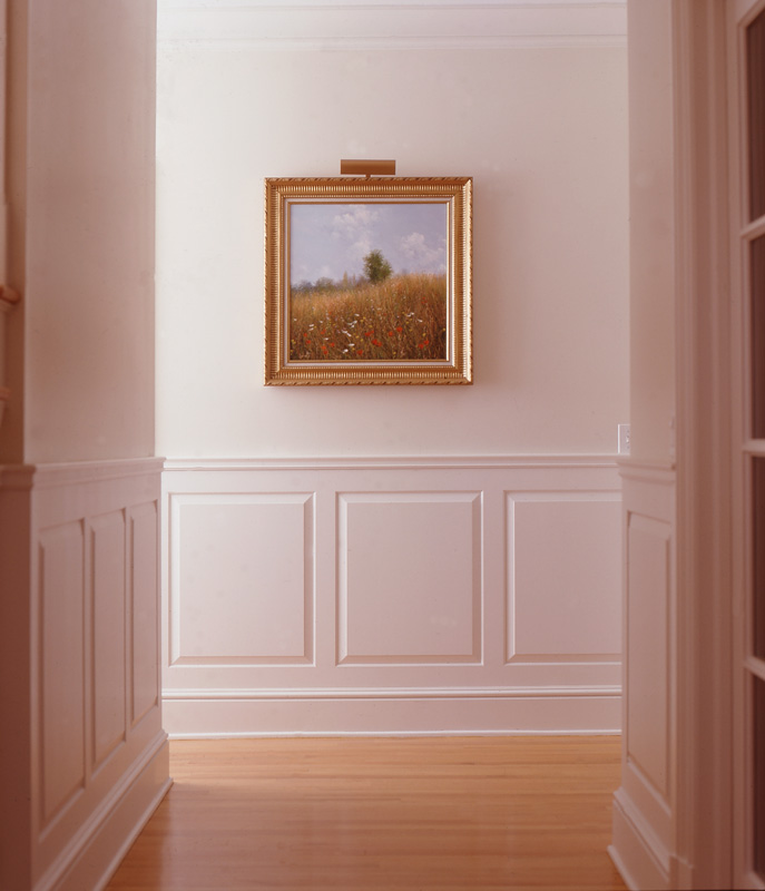 Home Hallway Design Ideas: Raised And Recessed Panel Wainscoting