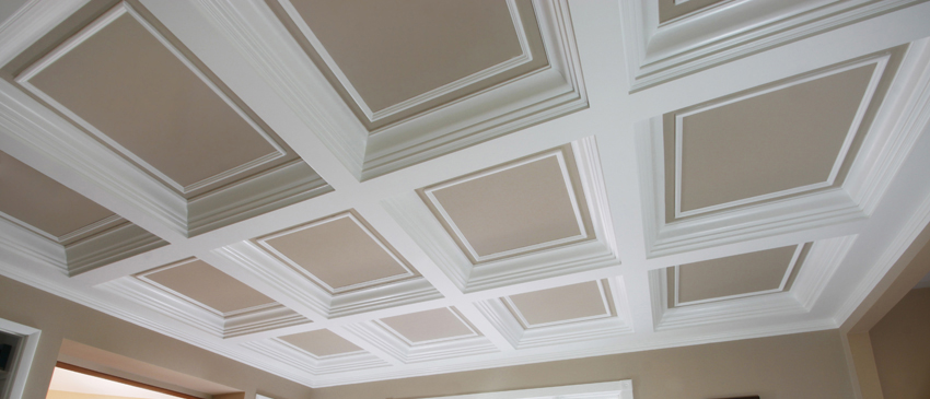 Coffered Ceilings Wainscot Solutions Inc