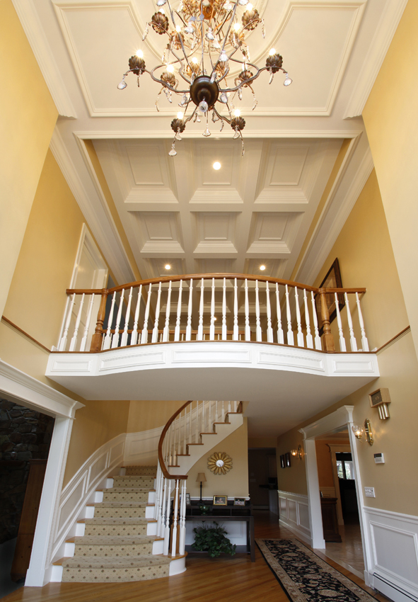 Foyer Ceiling Quotes : Coffered ceilings wainscot solutions inc