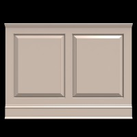 Wainscot Solutions Option #1 - Fairfield - Raised Panel (shown in 36