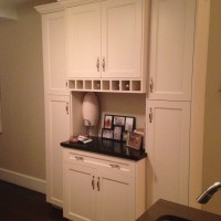Kitchen Wine Bar Built In Cabinets