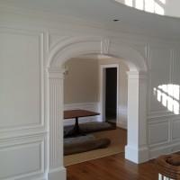 custom wainscoting entryway